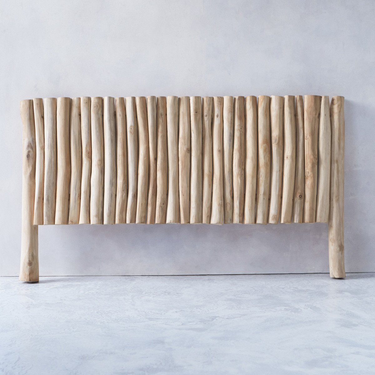 32f112618efd Solid Teak Driftwood Bed Headboard Bedrest 180cm Double Bed Natural Design:  Amazon.co.uk: Kitchen & Home