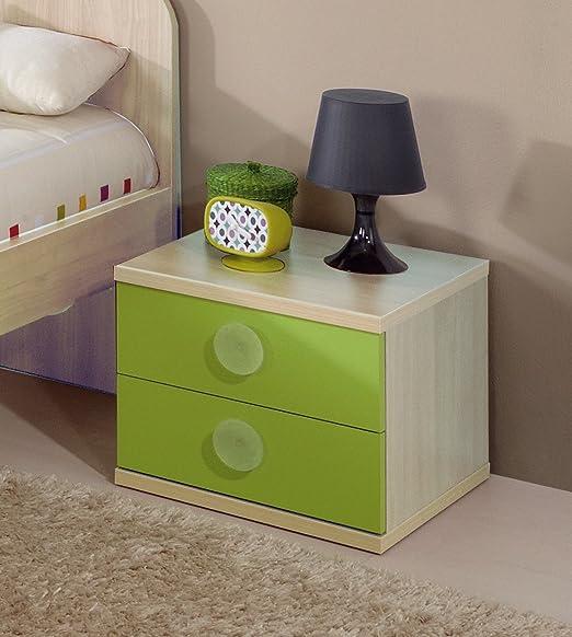 Abitti Mesilla o mesita de Noche para Dormitorio Juvenil en Color ...
