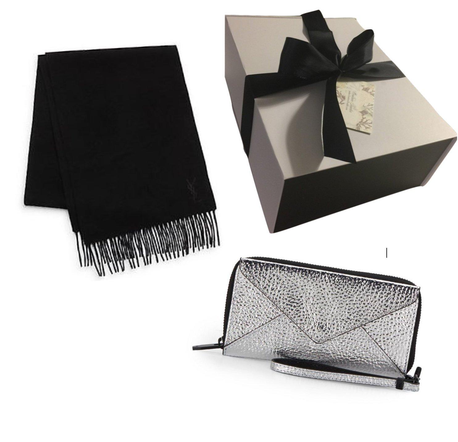 Loeffler Randall & YSL Lux Gift Bundle Valued $525