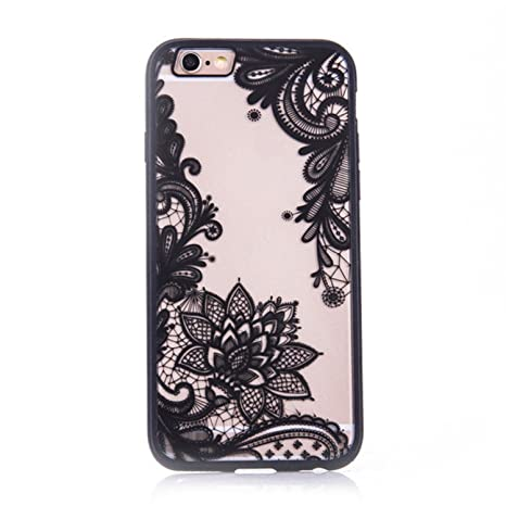 coque iphone 6 fleur dentelle