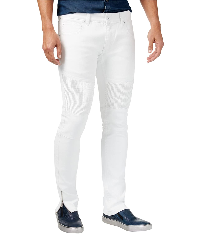 I-N-C Mens Super Stretch Skinny Fit Jeans