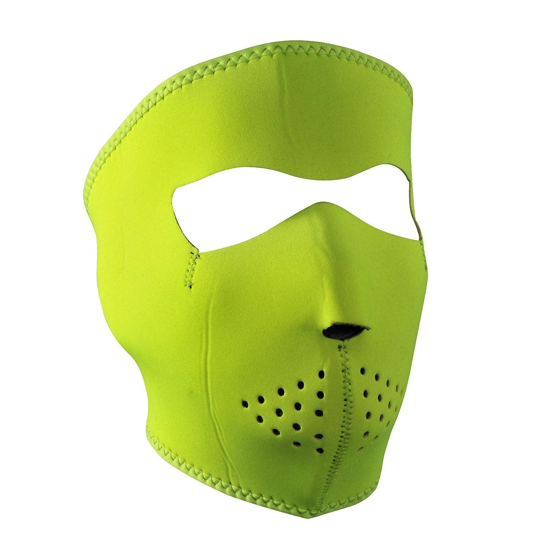 Adult//Unisex ZANheadgear Neoprene Forest Camo Full Mask