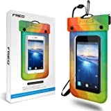 FRiEQ Floating Waterproof Case for Outdoor Activities-Perfect for Boating,Kayaking,Rafting,Swimming, for Apple iPhone 6 Protects your Phone from Water,Sand,and Dirt-IPX8 Certified to 100feet Rainbow