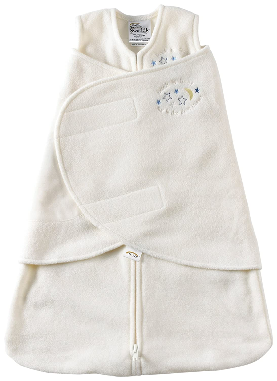 HALO 915 SleepSack Micro-Fleece Swaddle Newborn Cream