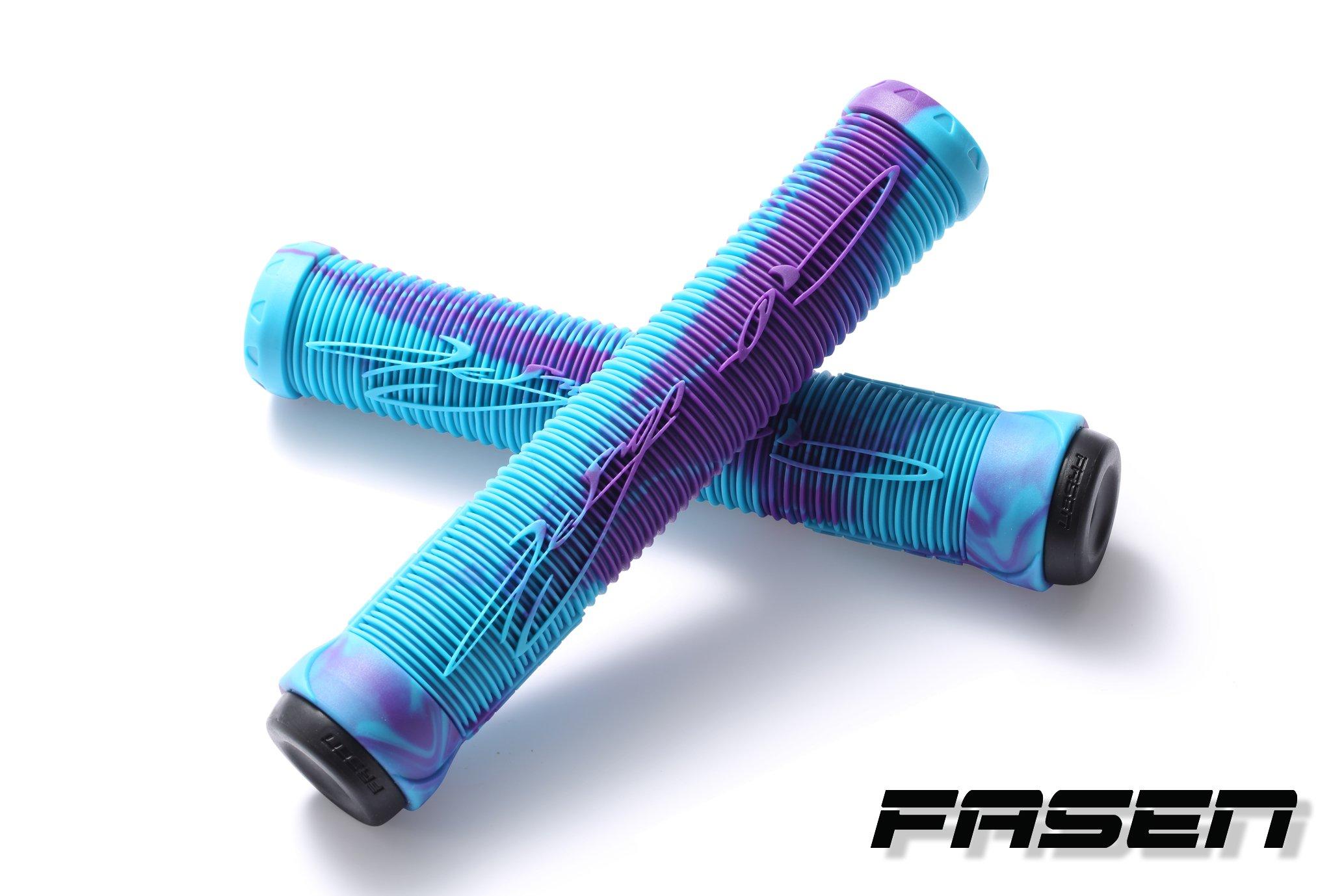 Fasen Fast Grips (Teal/Purple)