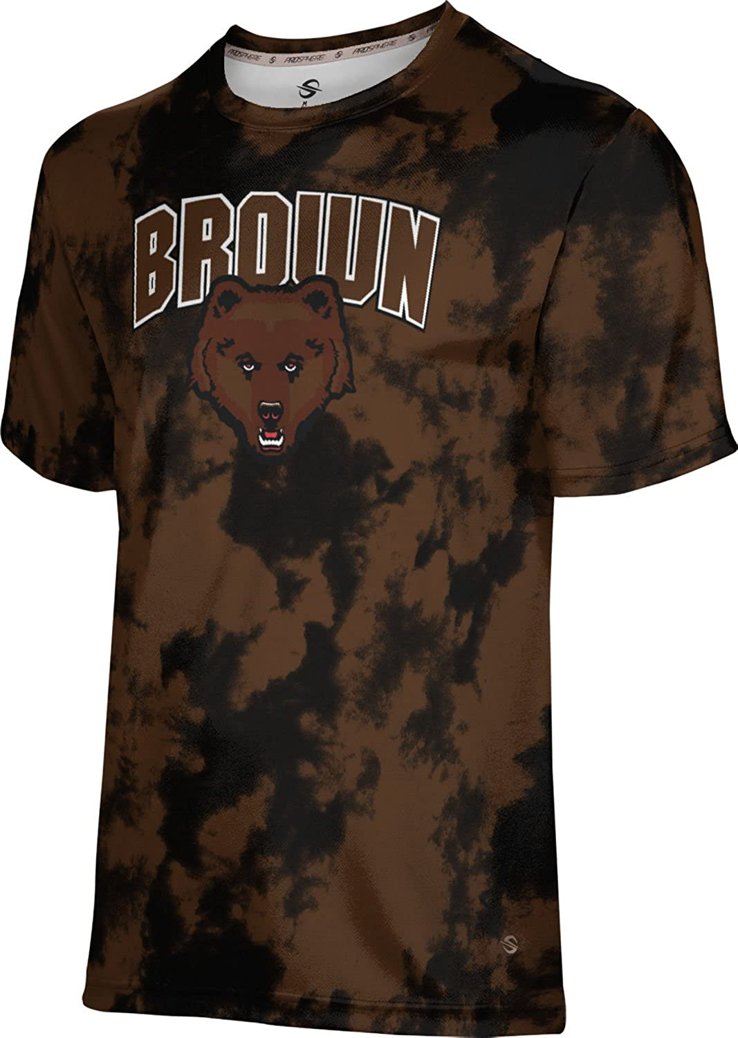 Grunge ProSphere Brown University Mens Performance T-Shirt
