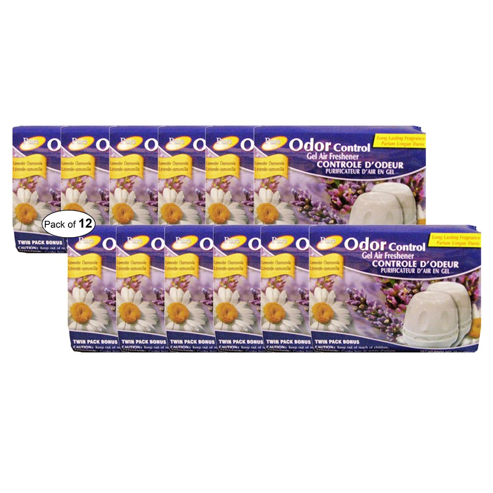 Pure Air Odor Control Air Freshener- Lavender Chamomile ( Twin Pack 283g) (Pack Of 12)