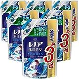 レノア 本格消臭 柔軟剤 スポーツ フレッシュシトラスブルー 詰め替え 約3倍(1260mL)×6袋