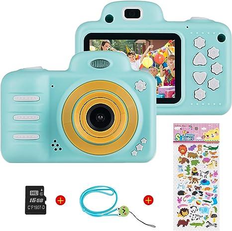 Camara Fotos Ni/ños C/ámara para Ni/ños con Pantalla HD de 2.0 y Juegos Camara de Fotos para Ni/ños Recargable Camara Fotos Infantil Camara Fotos Ni/ños