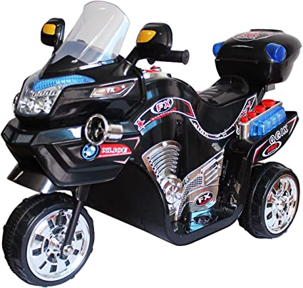Lil/' Rider Ride on Toy 3 Wheel Motorcycle Trike for Kids Battery Powered Ride o