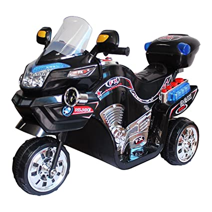 Lilu0027 Rider Ride On Toy, 3 Wheel Motorcycle For Kids, Battery Powered Ride