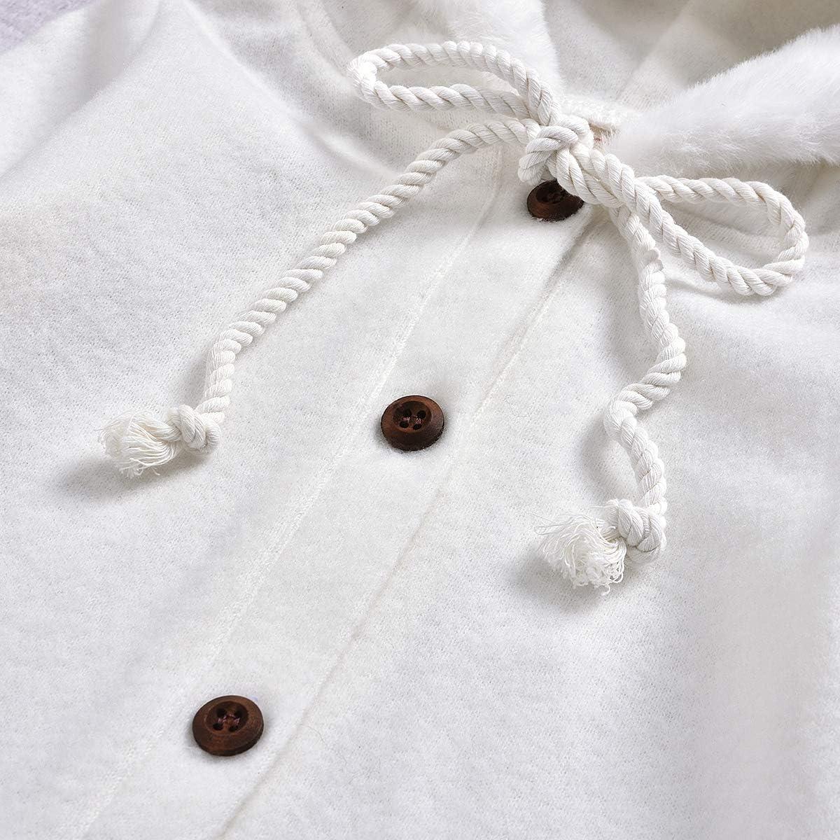 LddcryMbb Newborn Baby Boys Girls One-Piece Romper Long Sleeve Jumpsuit Bodysuit Clothes for 0-24Months