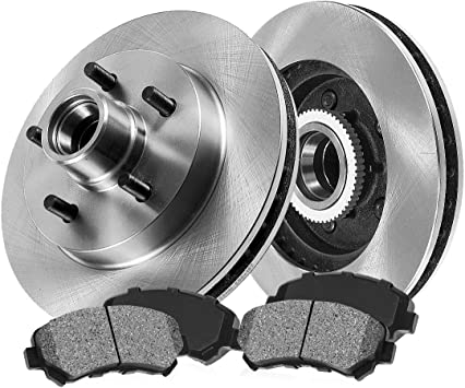 2007 2008 2009 2010 Mazda B4000 4WD OE Replacement Rotors Metallic Pads F