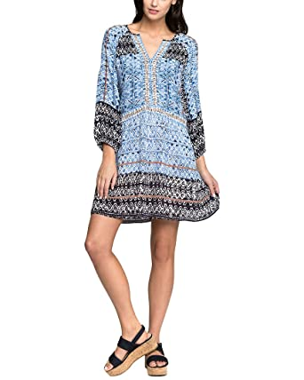 04860d43d6d NIC+ZOE Womens Sunny Days Tunic Top at Amazon Women s Clothing store
