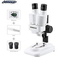 Aomekie Microscopio Estereo 20X Microscopio de binoculares