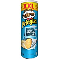 Pringles Pringles Salt & Vinegar Flavored Chips 200 grams Can