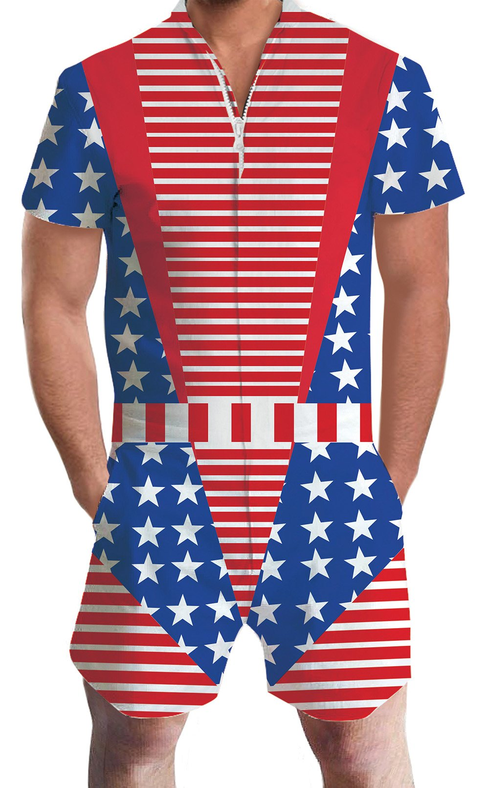 e633af83748a Galleon - Mens Male Sexy Belt Printed Hipster Novelty Shorts Cargo Pants  Tees Clothes Jumpsuits Rompers Overalls M