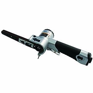 "Astro 3036 Air Belt Sander 3/8"" x 13"" with 3 Belts #40, #60 & #80"