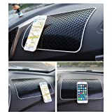 Glumes Non-Slip Mounting Pad, Sticky Car Dashboard