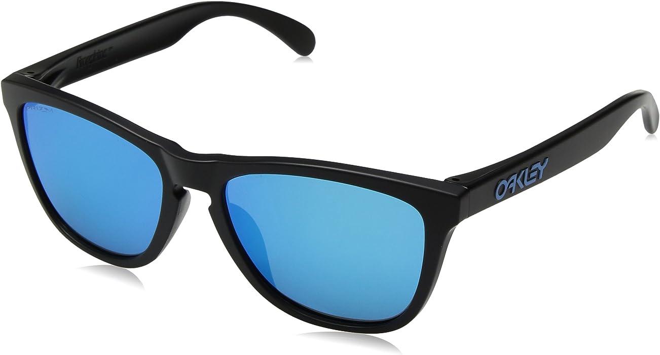 06bf40ef82 Amazon.com  Oakley Frogskins (A) Sunglasses