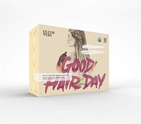 Oleum Vera Do It Yourself Kit De Soin Pour Cheveux Bio Blanc