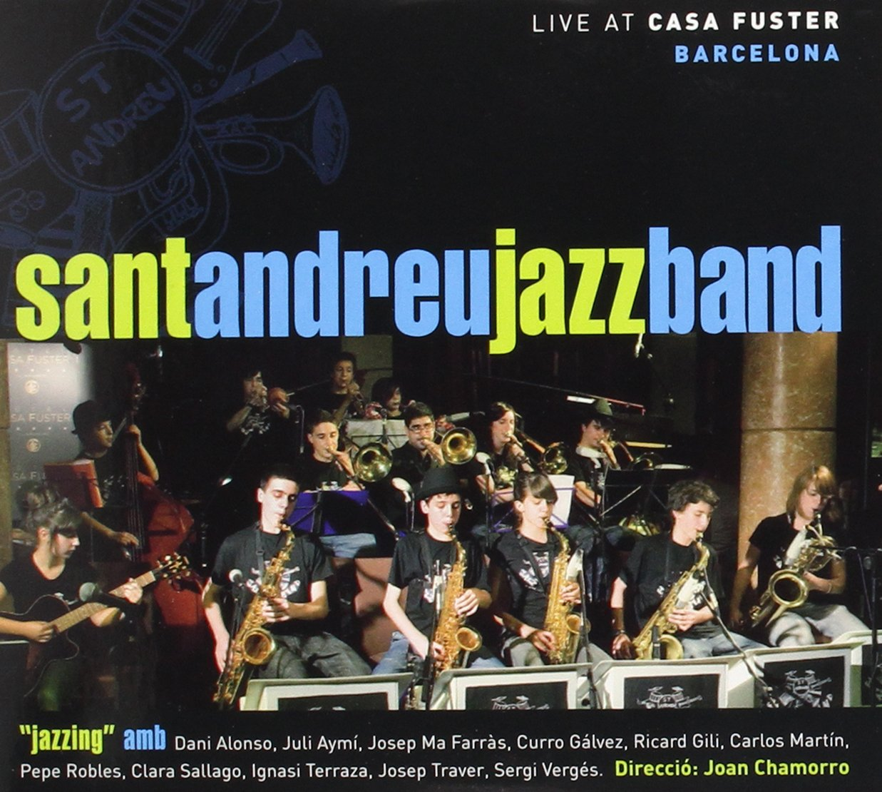 Amazon Com Live At Casa Fuster Barcelona Cd Dvd Music