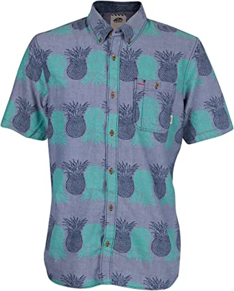 Vans - Camisa casual - para hombre Pineapple medium: Amazon.es: Ropa y accesorios