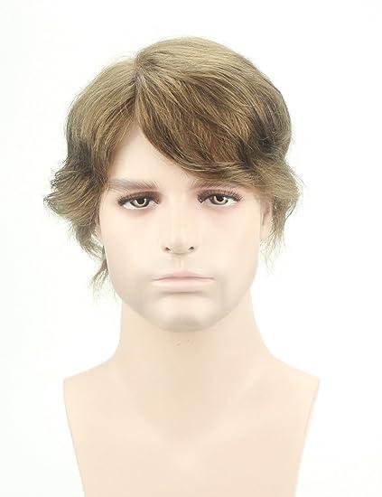 Peluquín para hombre Lordhair, de cabello humano, con redecilla