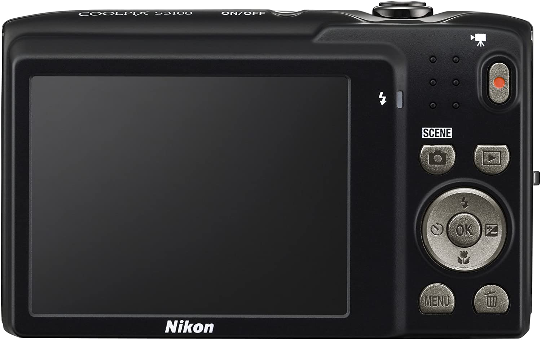 Nikon Coolpix S3100 Digitalkamera 2 7 Zoll Schwarz Kamera