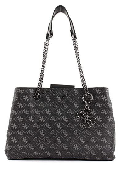 Guess Mia Coal Shoulder Bag HWSM71-03090-
