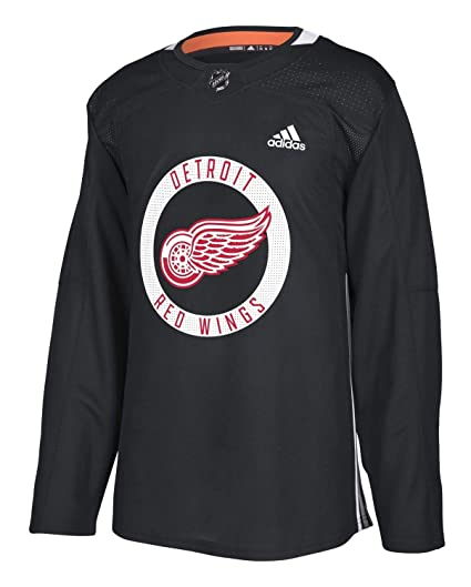 new product a6543 05cac Amazon.com : adidas Detroit Red Wings NHL Men's Climalite ...