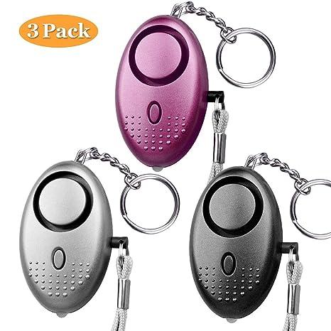 Zartk Alarma personal, llavero de alarma de seguridad de ...