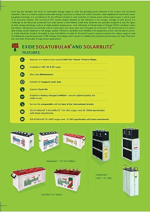 Exide Inverter Plus 100Ah Battery: Amazon in: Car & Motorbike