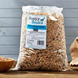 Happy Beaks No Wheat Wild Bird Food Seed Mix (25.5kg) High Energy Wheat Free Premium Feed For Wild Birds