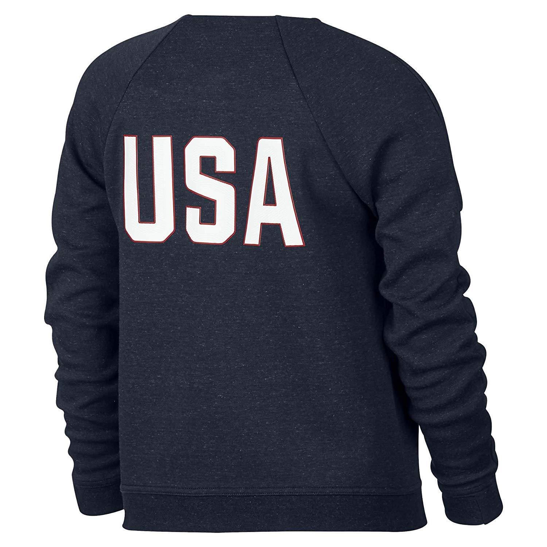 9cb8d49dc15b Amazon.com  Nike Girl s Tech Fleece Team USA Big Kids  Jacket  Clothing