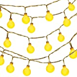 Amazon Price History for:Globe String Light,Dailyart LED Starry Light Fairy Light for Garden,Wedding,Xmas Party (WW, Battery-powered, 13feet/4meters)
