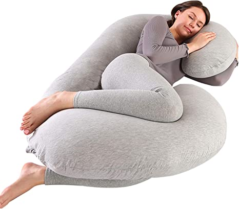 Victostar Pregnancy Pillow U Shaped Full Body Maternity Pillow for Pregnant with