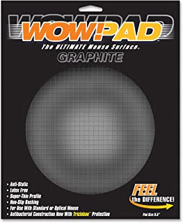 """product image for WOW!PAD 8DG55 8.5"""" Diameter Graphite Tech Mouse Pad"""