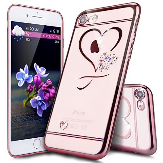 3 opinioni per Custodia iPhone 7,Cover iPhone 7,Custodia Cover per iPhone 7, ikasus® Placcatura