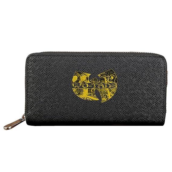 580c824cfc0c Amazon.co.jp: Wu Tang Clan 3 長財布 ラウンドファスナー 二つ折り財布 ...