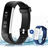 115U Smart Watch, Waterproof Fitness Tracker Messages Call Alert Step Claroie Counter Alarm Clock Camera Shoot Sedentary Reminder Fitness Watch Smart Band for Men Women Boys Girls