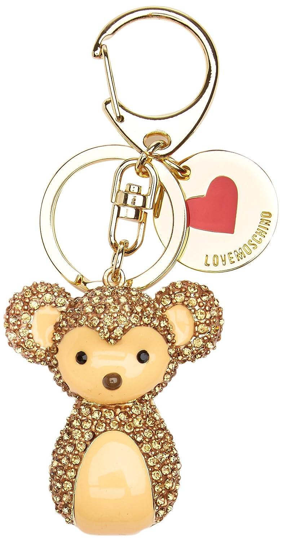 Love Moschino Portachiavi Metallo Oro 6281eb638bf