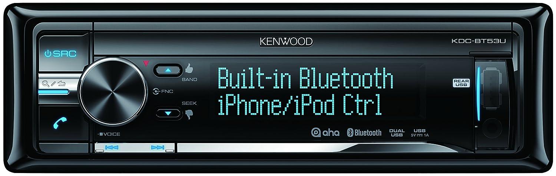 Kenwood CD/AUX Receptor Dual USB con Bluetooth incorporado, de control directo para el iPod/iPhone y Color de iluminación variable: Amazon.es: Electrónica