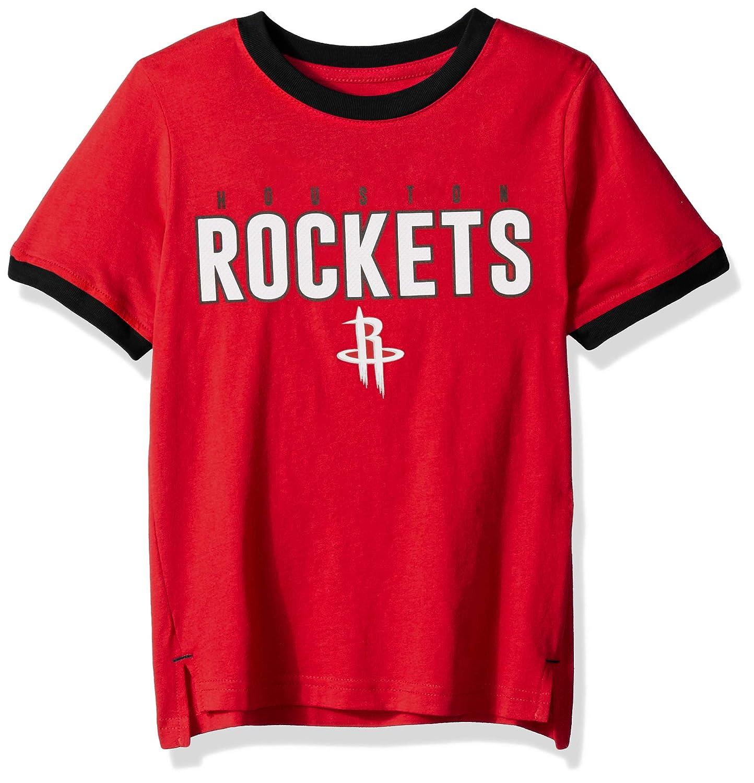 Outerstuff NBA NBA Kids /& Youth Boys Houston Rockets Key Short Sleeve Fashion Tee Youth X-Large Red 18