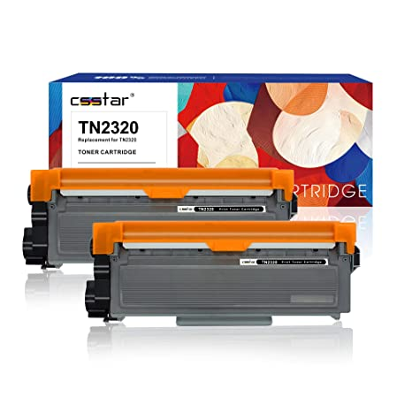 CSSTAR Compatible Cartuchos de Tóner Reemplazo para Brother TN2320 ...