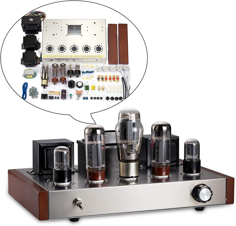 Nobsound 6N9P + EL34 valve amplificador estéreo de alta fidelidad preautorizar 2.0 channel single-ended Class A los amplificadores de tubo amplificador-KIT DIY KIT 13W * 2