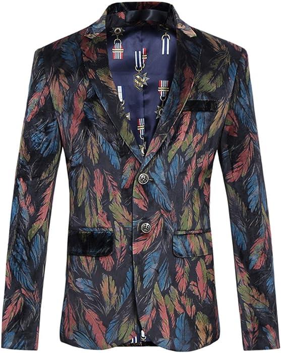 MOGU Chaqueta informal con cierre de botón 2 chaquetas para hombre