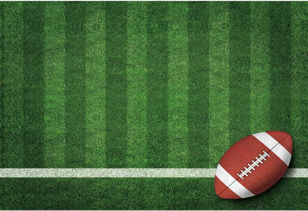 Haoyiyi 10x8ft Football Backdrops for Photography Classic American National Sports Game Scene Background Newborn Baby Boy Parties Birthday Bday Party Photo Booth Studio Props Pictures