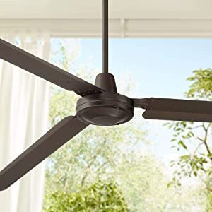 """72"""" Casa Velocity Modern Outdoor Ceiling Fan Oil Rubbed Bronze Damp Rated for Patio Porch - Casa Vieja"""