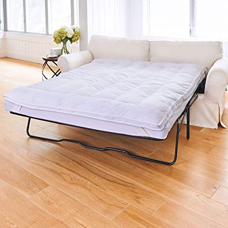 Marvelous Sleeper Sofa Mattress Topper Full 75L X 54W Pabps2019 Chair Design Images Pabps2019Com